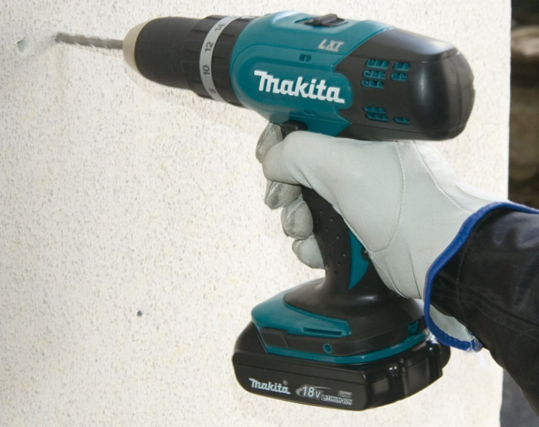 perceuse visseuse à percussion Makita DHP453RYX2 2