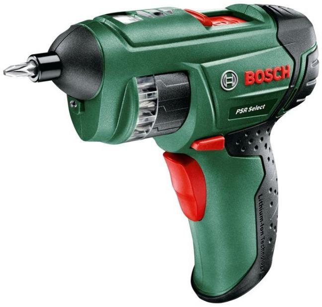 visseuse sans fil à barillet PSR Select Bosch 0603977000